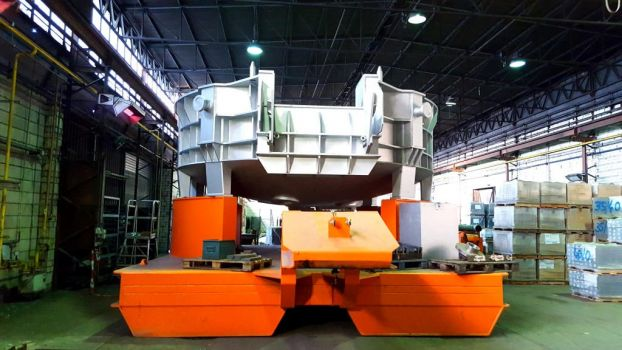 Electric arc furnace shell 3